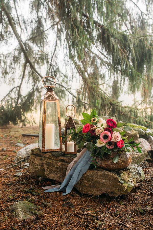 lanters at wedding, Ontario Wedding, Winter Wedding Ideas