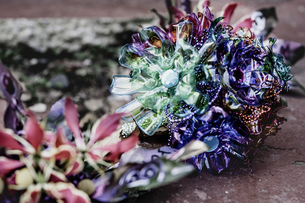 broach wedding bouquet ideas