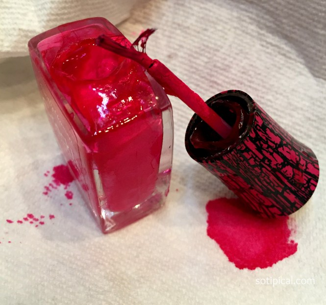 Image Led Remove Nail Polish From Acrylic Nails Without The Ing Off Step 2