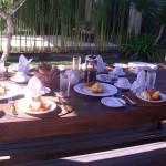 breakfast at Villa Canggu