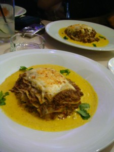 Lasagna Beef Rendang