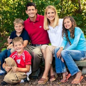 PaulRyanfamily