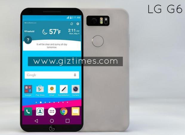 Защищенный от воды LG G6 сможет заряжаться без проводов