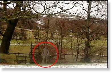 England Photo Ghostly Figure Captured On North