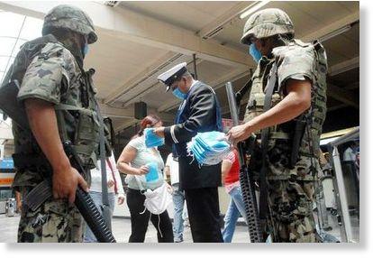 ©Notimex / Żołnierze na ulicy a wokół istna panika. Czy zdążyliście się już przyzwyczaić?