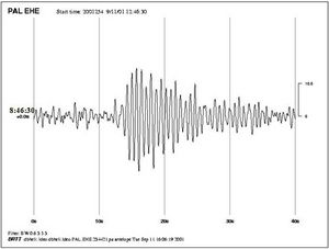 9/11 Seismic Study - Fig 1a