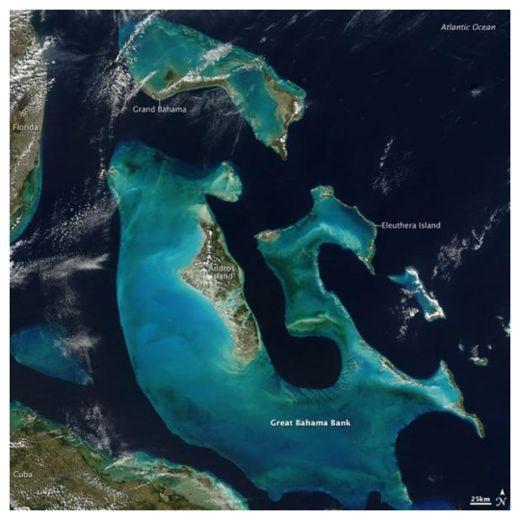 The Bahamas.
