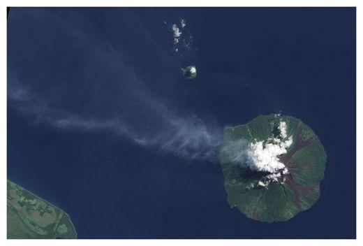 Manam Volcán