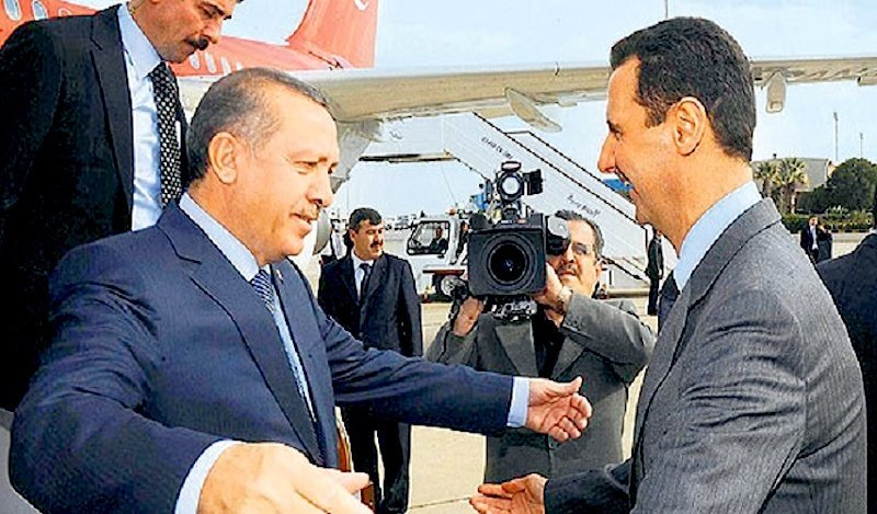 Image result for PHOTO OF ASSAD WITH TURKISH OFFICIALS