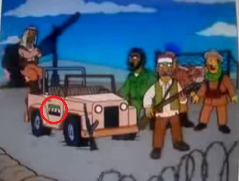 The Simpsons Crystal Ball Bombing Syrian Rebels And 6