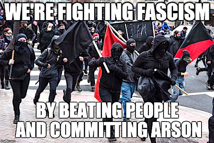Image result for pics of antifa thugs