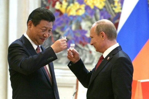 Image result for putin and xi jinping