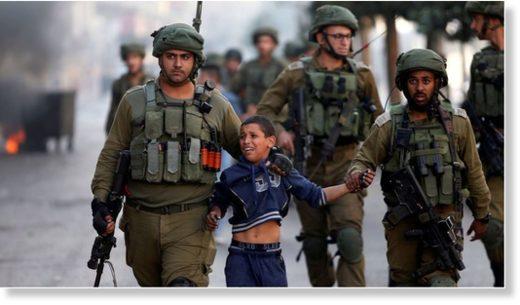 israel cruelty children
