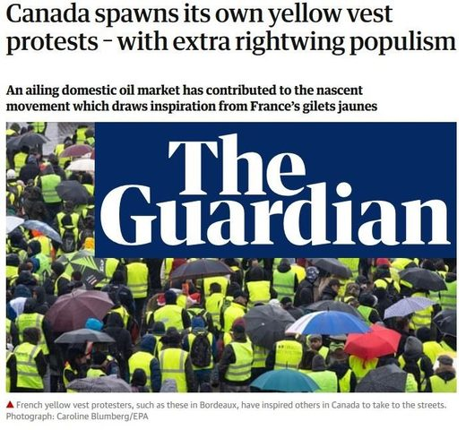 Guardian yellow vests