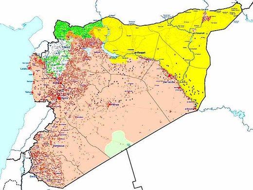 MapSyria