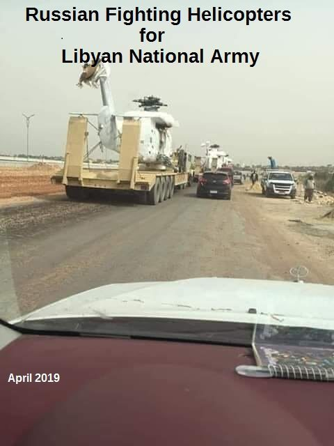 ruské vojenské zbrane líbya