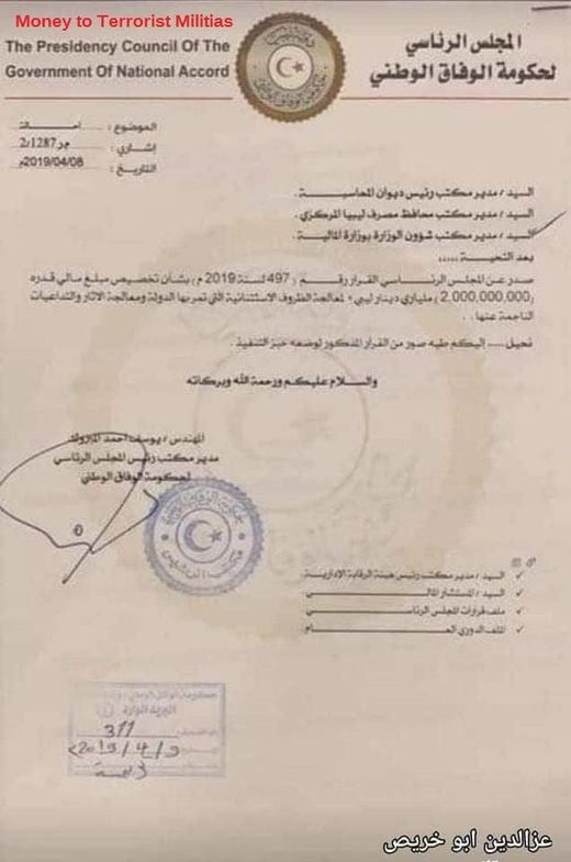 peniaze teroristi líbya