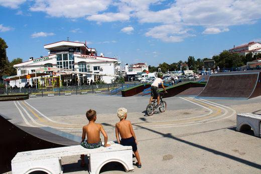 skate park in Sevastopool
