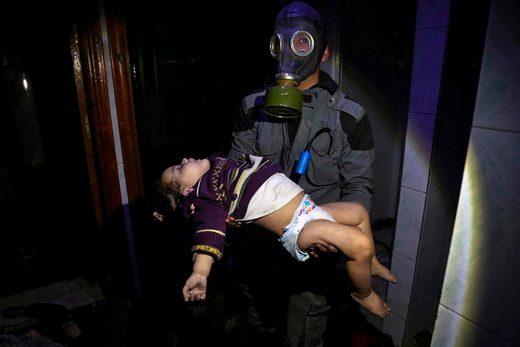 White Helmets in Douma