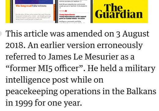 The Guardian quoted Karen Pierce