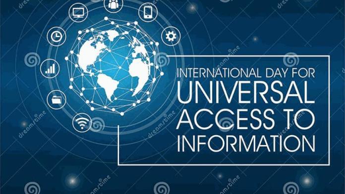 আন্তর্জাতিক তথ্য অধিকার দিবস