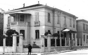 La Clinica di Benedetto Schiassi situata accanto a porta San Vitale, Bologna (prop. Elena Brizio).