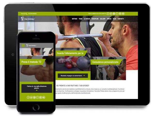sito True Training, Domenico Consolazio by sottosopra
