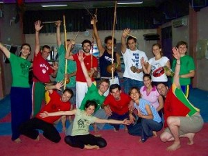 Capoeira à Damas en 2008