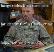 SMA Kenneth O. Preston (Retired) image abused by Scammers