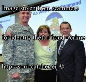 Gen. David M. Rodriguez image abused by Scammers16