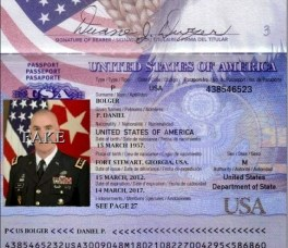Lieutenant General Daniel P Bolger Passport-1
