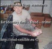 Seaman Stephen Murphy image abused by Scammers