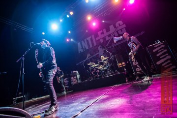 Photos : Anti Flag @ Le Metronum, Toulouse | 17.11.2015