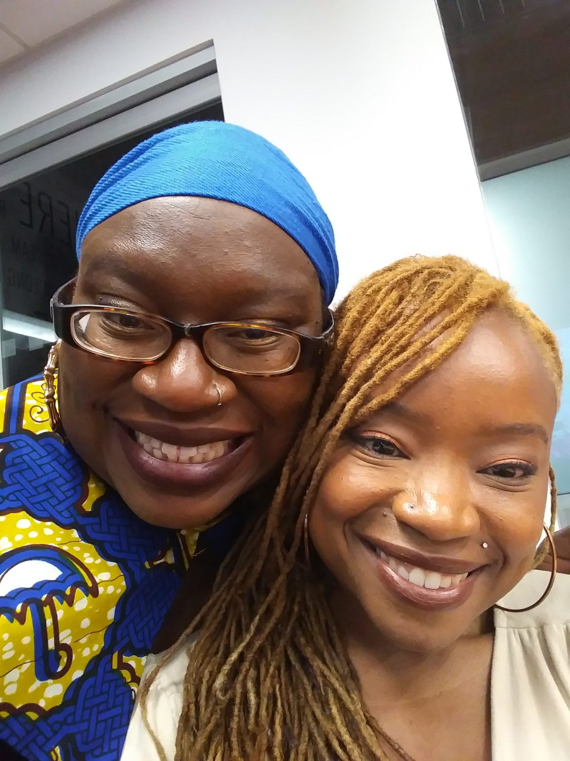 Ann Marie and Mercy Chikowore