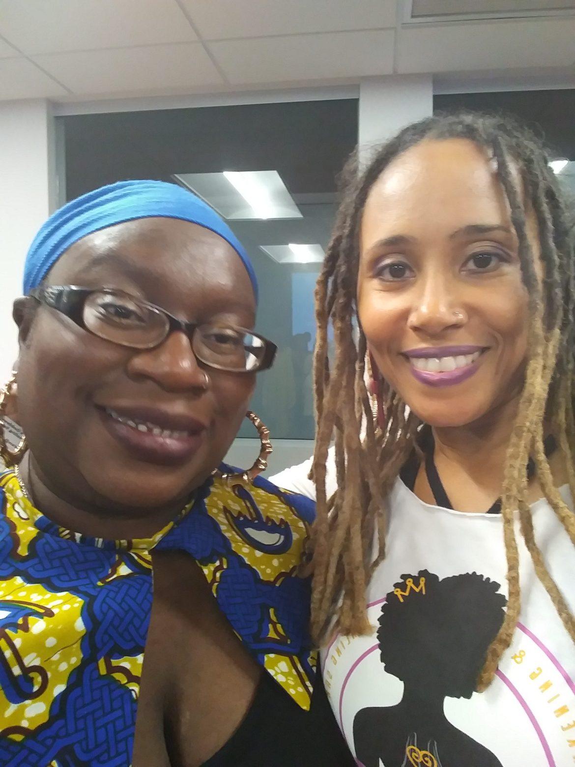 Ann Marie and health advocate Wendi Cheri