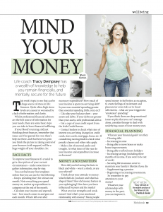 Tracy Dempsey's 10 Weeks to Wellbeing (Irish Sunday Mirror): Week 7 - Finance