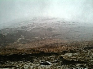 Snowy Mount Errigal, Co. Donegal