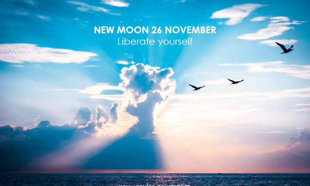 NEW MOON NOVEMBER 26TH – Liberate Yourself