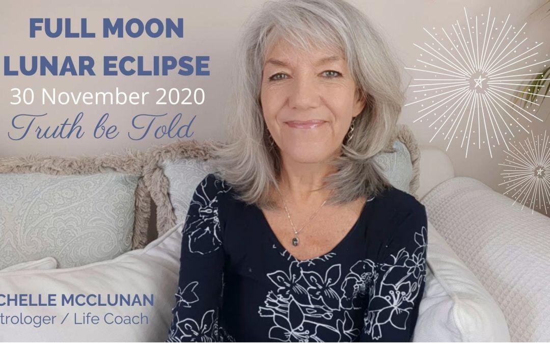 Full Moon Lunar Eclipse in Gemini on 30th November 2020