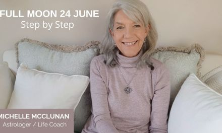 FULL MOON JUNE 24TH IN CAPRICORN – Step by Step