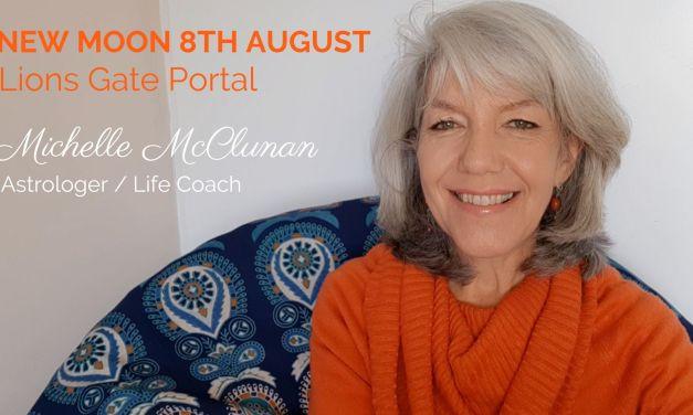 NEW MOON 8TH AUGUST – Lion's Gate Portal