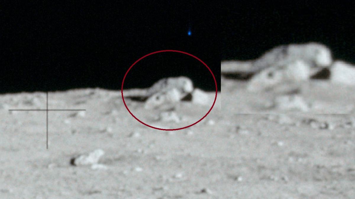 O outro lado da lua - bases alienígenas ou o cemitério de um antigo astronauta?