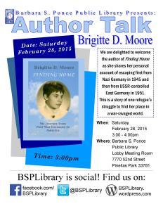 Brigitte Moore's book talk