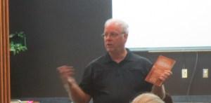 John Rehg at FWA meeting