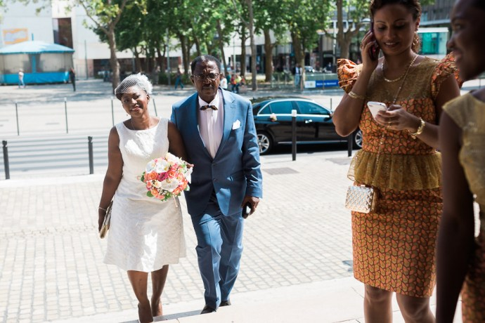 mariage mairie de montreuil mariage africain chic pagne orange or photographe soulbliss seine saint denis 93