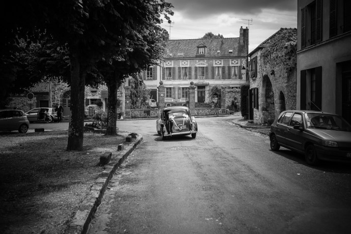 voiture collection noire mariage