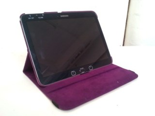 A Breezie tablet opened