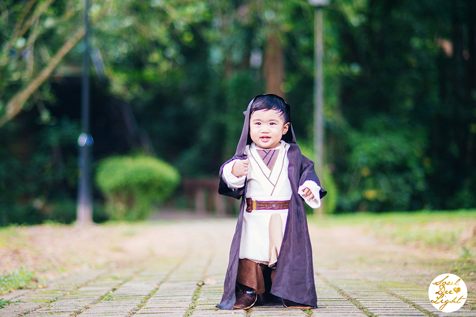 Family Ties |  Singapore | The little Jedi called Samuel