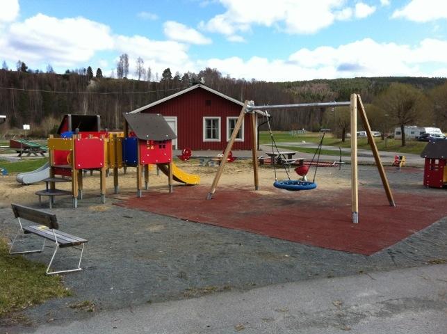 Lekpark på Sollefteå Camping