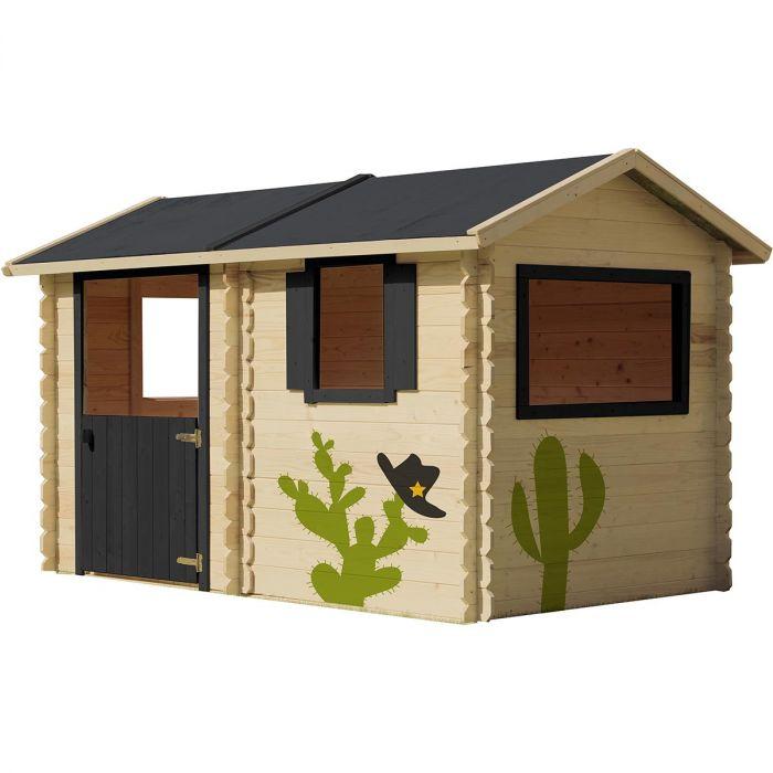 grande cabane en bois pour enfant coline